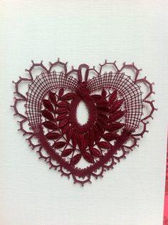 Lace Heart, Lace Jewelry, Diy Headband, Bobbin Lace, Blog, Lace Detail, Butterfly, Brooch, Crochet