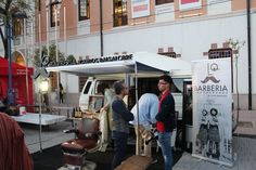 #MurciaSeMueve Barber Truck Murcia