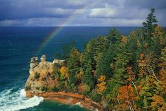 Miner's Castle, Pictured Rocks National Lakeshore, Munising, MI.  Our stomping grounds...lots of hiking trails!!!