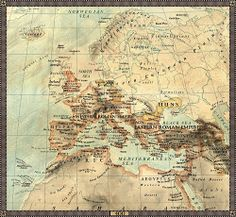 Europe in year 500 B. Boundaries and cities reflect defacto status at the time Europe in year 500 B. European History, World History, Ancient History, Vintage Maps, Antique Maps, Ultramarines, By Any Means Necessary, Map Globe, Old Maps