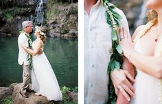 A sentimental Waimea Valley wedding on Oahu Island in Hawaii. Beautiful bride Michelle was expecting at this time and her ethereal tulle gown looked perfect Waimea Valley, Tulle Gown, Hawaii Wedding, Oahu, Beautiful Bride, Ethereal, Wedding Venues, Alice, Wedding Inspiration