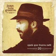 """""""Ójala Que Llueva Café"""" by Juan Luis Guerra 4.40 was added to my Discover Weekly playlist on Spotify"""