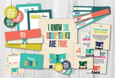 LDS Primary 2016 Theme Printables Kit planner by PicadillyLime