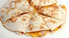 Teriyaki chicken stuffed in a cheesy quesadilla. I love the sweet and tangy flavor of teriyaki especially on chicken. Mexican Dishes, Mexican Food Recipes, Snack Recipes, Snacks, Teriyaki Chicken, Teriyaki Sauce, Lime Chicken, Marinated Chicken, Beef Wraps