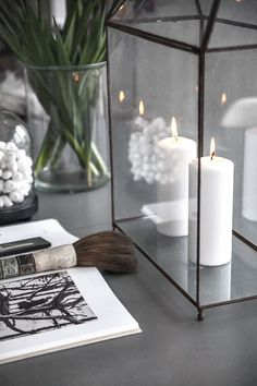 Decorating with candles // Helt enkelt | Inredning – Foto – Inspiration