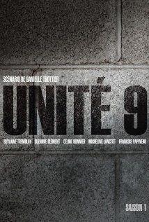 """""""Unité 9"""" est une série diffusée à la télévision de Radio-Canada depuis 2012. L'intrigue se déroule dans une prison de femmes, près de Montréal."""