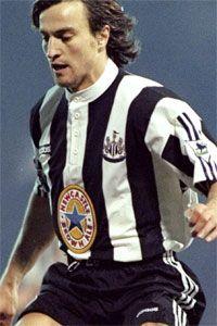 David Ginola (winger) 1995-97 League apps 58. Gls 6