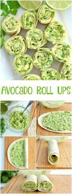 5 Ingredient 5 Minute Avocado Roll Ups http://eatdojo.com/easy-healthy-recipes-meals-breakfast-lunch-dinner/