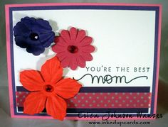 CIC 210 - Color Challenge with Washi tape - Happy Mothers Day! I hope you are having fun celebrating with your family. We are headed to Kansas City for brunch and then whatever trouble Mom wants to get in. Today over at Cupcake Inspiration, we have a color challenge. The colors are Rose, Poppy and Grape. I really love this combo....