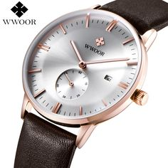 Luxury Brand Ultra thin Date Genuine Leather Men Quartz Watch Rose Gold Casual Sports Watches Men Wrist Watch Relogio Masculino