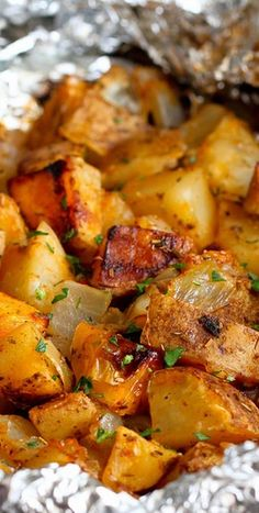 Side: Grilled Potatoes