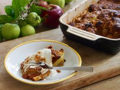 Glutenfri æblekage med smuldredej