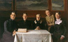 Michael Peter Ancher (1849-1927): Juledag (Christmas Day), 1900
