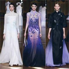 Heaven Gaia Modest Dresses, Nice Dresses, Runway Fashion, Fashion Outfits, Paris Fashion, Oriental Dress, Plus Size Gowns, Ethnic Chic, Evening Dresses For Weddings