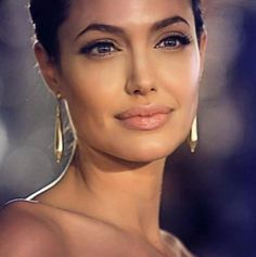 Angelina Jolie - One of the most inspiring and beautiful (from the inside and out) woman in the world.