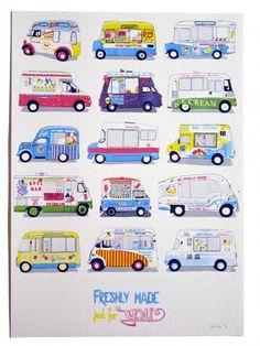 Print Club London   shop   ice_cream_van