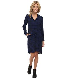 Lucky Brand Everyday Shift Dress Blue Multi - Zappos.com Free Shipping BOTH Ways