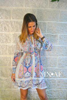 Vestido disponible en nuestra shop online www.mxaf.es