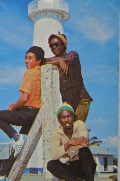 Bob Marley, Bunny Wailer and Peter Tosh