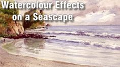 Online Art Class - Watercolour Effects and Seascape - Paint Basket TV Watercolor Effects, Watercolour Painting, Basket Tv, Gouache Tutorial, Painted Baskets, Online Art Classes, Sponge Painting, Paint Effects, Seascape Paintings