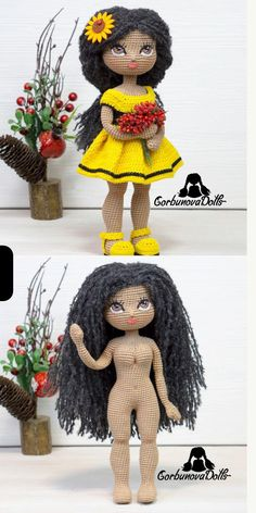 Crochet Doll Pattern, Crochet Toys Patterns, Amigurumi Patterns, Stuffed Toys Patterns, Amigurumi Tutorial, Knitting Patterns, Handmade Dolls Patterns, Doll Patterns, Beginner Crochet Tutorial