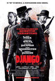 Um filme de Quentin Tarantino com Jamie Foxx, Christoph Waltz, Leonardo DiCaprio, Kerry Washington. Django (Jamie Foxx) é um escravo liberto cujo passado brutal com seus antigos proprietários leva-o ao encontro do caçador de recompensas alemão Dr. Ki...