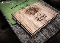Rustic Tree Wedding Guestbook