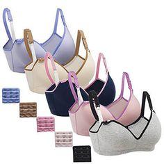 50bf182a74f6f Gratleaf Nursing Bra for Women Breastfeeding Bras