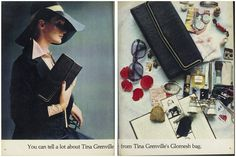You can tell a lot about Tina Grenville from Tina Grenville's Glomesh bag. Antique Jewelry, Canning, Antiques, Bags, Vintage, Antiquities, Handbags, Old Jewelry, Antique