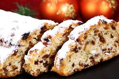 Weihnachtsstollen - going to give it a go and bake it (either this or next weekend)