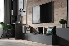 argument about modern tv feature wall interiors 27 Living Room Wall Units, Living Room Tv Unit Designs, Home Living Room, Living Room Decor, Home Room Design, Home Office Design, Home Interior Design, House Design, Apartment Interior