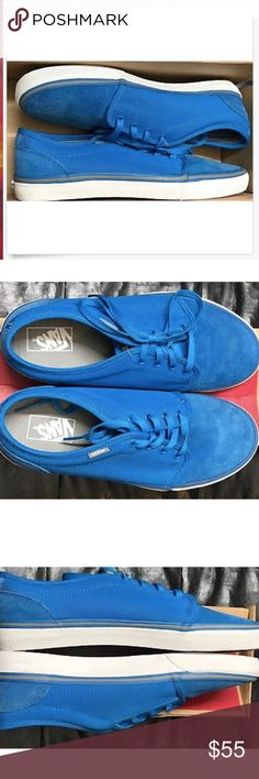 135873f056 Vans 106 Vulcanized MLX Light Blue White Shoes🌹 Vans 106 Vulcanized MLX  Light Blue White Shoes Size Men 11 Brand new in box Vans Shoes Athletic  Shoes