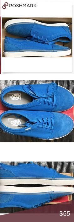 7610eda371b3a6 Vans 106 Vulcanized MLX Light Blue White Shoes🌹 Vans 106 Vulcanized MLX  Light Blue White Shoes Size Men 11 Brand new in box Vans Shoes Athletic  Shoes