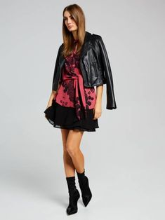 Women's Tops - Shirts, Blouses, Knitwear and Cardigans Shirt Blouses, Shirts, Punk, Leather Jackets, Knitting, Chic, Tees, Stuff To Buy, Shopping