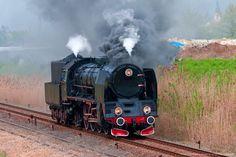 Image detail for -Retro steam locomotive parade in Poland