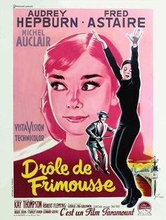 Funny Face (1957), Dir. Stanley Donen, French Poster