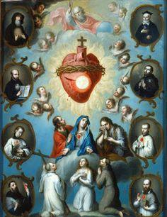 Cum Petro et sub Petro: Semper: As Inesgotáveis Riquezas do Sagrado Coração de Jes...   Sagrado Coração de Jesus, delícias de todos os Santos, tende piedade de nós.