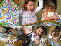 Teaching virtues with Chutes & Ladders