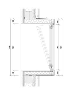 Gallery of Gardening center / Architekti DRNH - 24 Image 24 of 29 from gallery of Gardening center / Detail Architecture, Plans Architecture, Architecture Drawings, Landscape Architecture, Chinese Architecture, Architecture Office, Futuristic Architecture, Window Detail, Construction Drawings