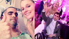 PHOTO: Strangers donated over $60,000 to give one couple battling cancer their dream wedding and honeymoon.