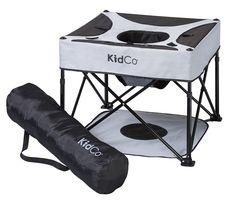 KidCo GoPod Go Pod Portable Folding Travel Play Activity Baby Seat Cardinal Red