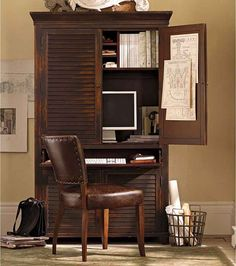 armoire for the home office