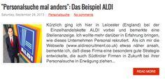 Personalsuche mal anders: Das Beispiel Aldi. Eine Rekruiting Strategie der viele Unternehmen folgen könnten.... http://www.suedtirolcareer.com/2013/09/personalsuche-mal-anders-das-beispiel.html