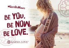 Die Welt braucht dich genauso wie du bist. Einzigartig und wunderbar. In jedem Moment. Cecilia Dyaljot & Karma Love /// Be you. Be now. Be love. /// #KarmaLove #QuoteDesMonats
