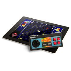My co-worker bought this and I was playing Pacman with it. I was in geek heaven lol-iCade 8-Bitty - Retro Wireless Game Controller for iPhone/iPad/Android