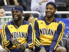 Lance Stephenson & Paul George. I just love these guys.  Never leave us, Lance.