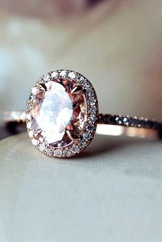 18 Morganite Engagement Rings We Are Obsessed With ❤ Morganite engagement rings can be good alternative to the traditional diamond rings. See more: http://www.weddingforward.com/morganite-engagement-rings/ #wedding #engagement #rings #weddingring