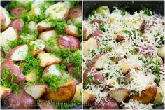 Buttered Red Potatoes with Dill-6