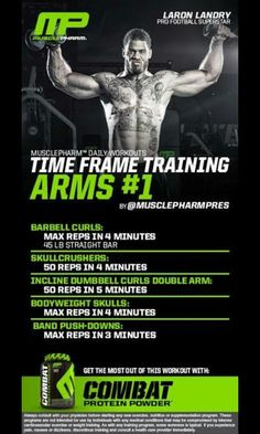 Time frame training Arms