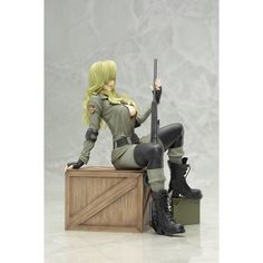 Metal Gear Solid Bishoujo 1/7 Scale Pre-Painted Figure: Sniper Wolf